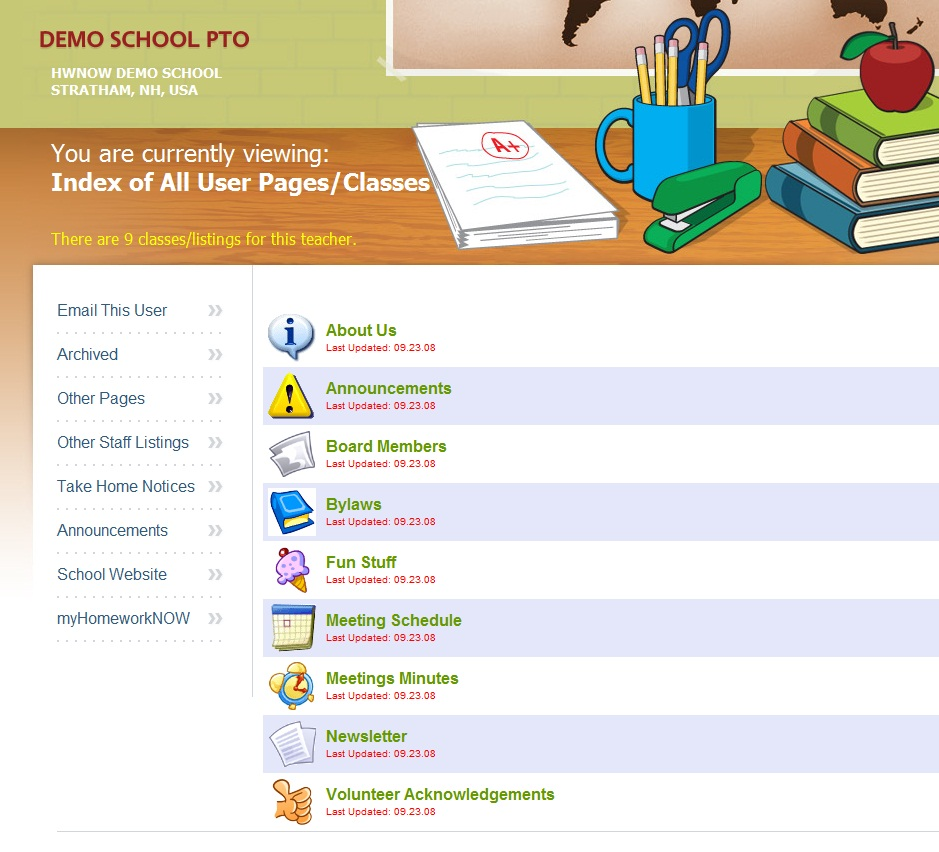 HomeworkNOW - Student and Parent Features